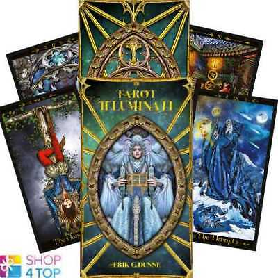 Tarot Illuminati Deck Cards Dunne Esoteric Fortune Telling Lo Scarabeo New