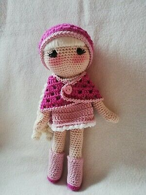 MariaLaLarga-Crochet Doll Lola Pattern | 400x300