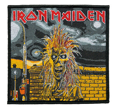 Iron Maiden Aufnäher - First Album  (SP2546)Iron Maiden Patch -Gewebt/Lizenz