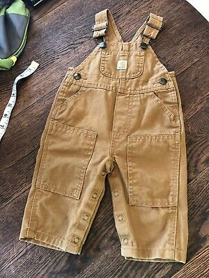 3a7c818a112 CARHARTT BIB OVERALLS Boys Toddler 24 Months Excellent Condition ...