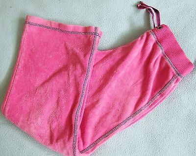 M&S Indigo Collection PINK Girls Tracksuit / Jogging Bottoms Sports TROUSERS