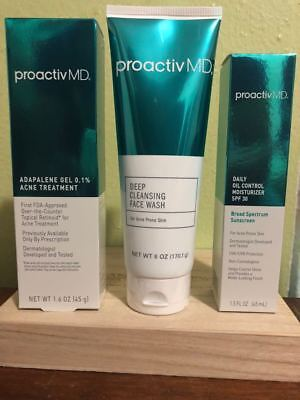 Proactiv MD 90 Day 3 Piece Kit Brand New Sealed Exp  12/21 NO AUTO SHIP