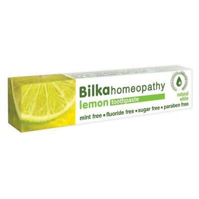 Bilka Natural Toothpaste Homeopathy Lemon 75ml