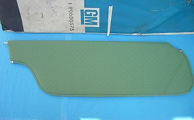Nos 73 74 75 Pontiac Oldsmobile Sun Visor Green Perforated Chevrolet Buick