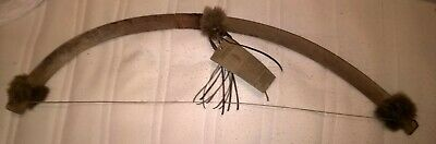 native american ceremonial bow tribal reflection first nations poeples