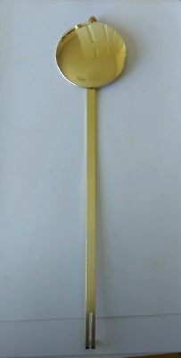 Brass Pendulum Bob for Quartz Movements 67mm Diameter Rod 260mm