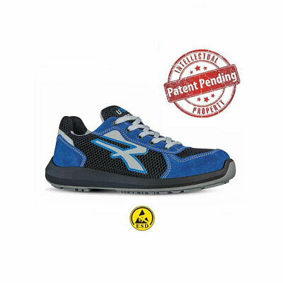 Scarpe antinfortunistiche basse  UPOWER RED UP U-POWER SKY S1P SRC ESD
