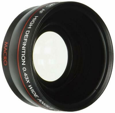 Digital Concepts High Definition 0.43 X 58mm Wide Angle Telephoto Lens