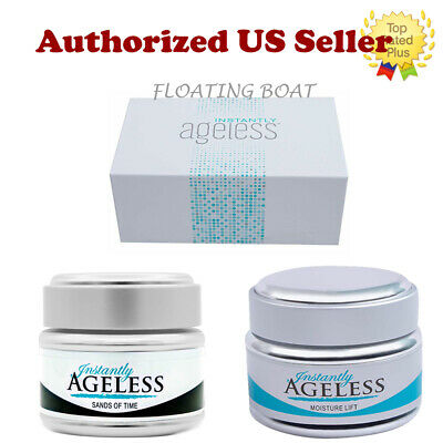 Authentic Jeunesse Instantly Ageless Face Lift VIALS,Facial Moisturizer,Scrub