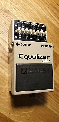 1983 BOSS GE-7 Equalizer Guitar Effects Pedal - Made In Japan - Stomp Box