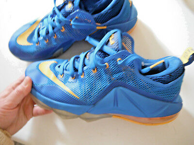 5024a0c7f06 Nike Earned 23 Lebron James BLUE   Yellow MEN S athletic sneakers Sz.11 ...