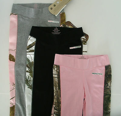 Girls Realtree Camo Straight Leg Yoga Sweat Lounge Fitness Pants NWT Free Ship