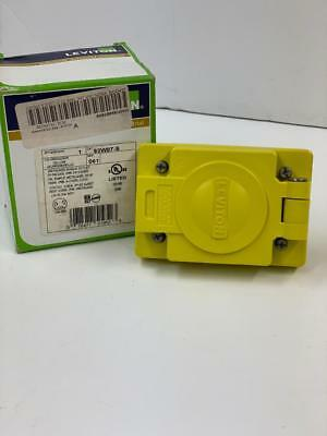 Leviton 93W07-S outlet with cover