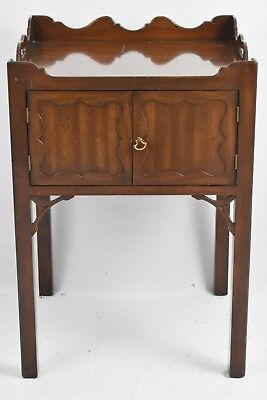 KITTINGER Colonial Williamsburg Mahogany Side Table CW 57