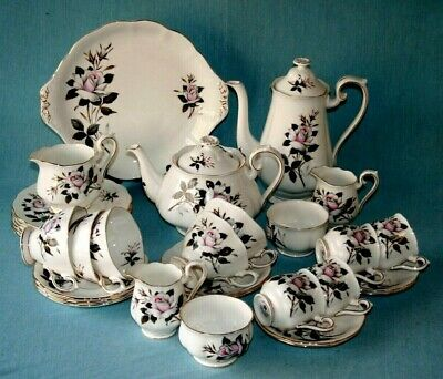 Royal Albert ' Queens Messenger '  Tea Set And Tableware - English Bone China