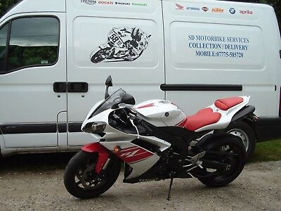 Motorcycle Transportation,Collection,Delivery.