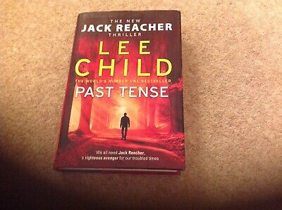 Past Tense By Lee Child Jack Reacher Thriller Hardback Book Read Once