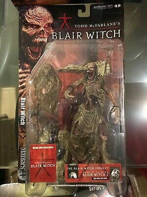 Blair Witch Movie Maniacs Series 4 Open Mouth Variant AF New 2001 McFarlane Toys