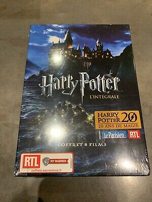 Coffret Dvd L'integrale Harry Potter Neuf Sous Blister
