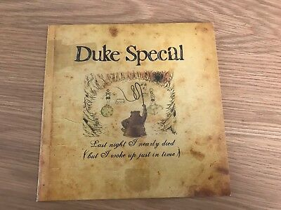 "Duke Special - Last Night I Nearly Died - 7"" Pic Disc - UNPLAYED - Discount 2+"