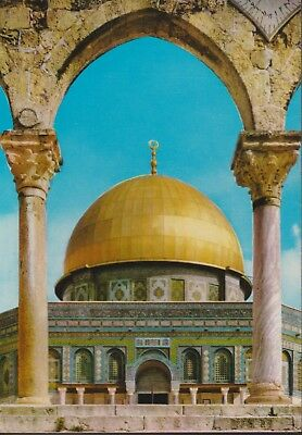 POSTKAART 6 JERUZALEM DOME OF THE ROCK Mosque of Omar Moskee Islam