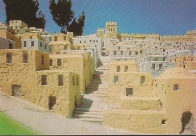 POSTKAART 7 JERUZALEM REPRODUCTION OF THE CITY OF JERUSALEM at the time of 2nd