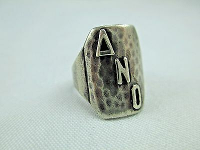 Antique Arts & Crafts Chicago Art Silver Shop Sterling Silver Ring 1912-34 219B