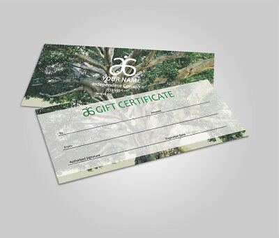 20 Arbonne Gift Certificate - Gift Card - tree of life