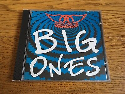 Aerosmith - Big Ones CD album - The Greatest Hits very best of