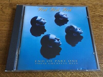 Wet Wet Wet - End of part one - Greatest Hits CD album the very best of