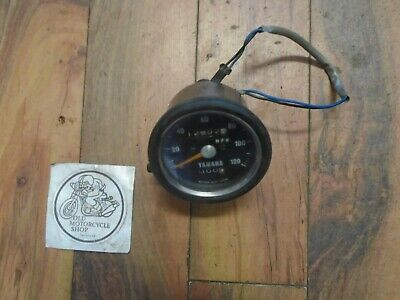 1971 Yamaha R5-350 Speedometer In Mph