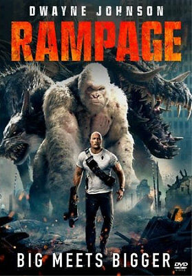 Rampage (DVD) REGION 1 DVD (USA) Brand New & Sealed