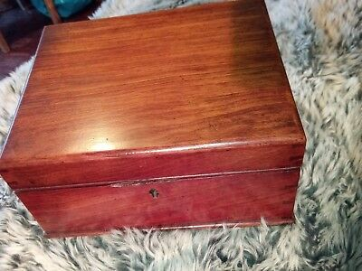 Quality  Antique writing slope box