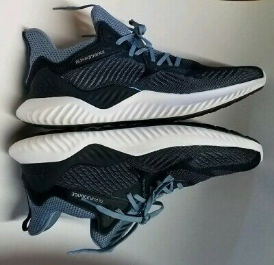 b91614610 Men s Adidas CG4764 Alphabounce Beyond Running Navy Sneakers Shoes Size 13