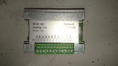 Danfoss 130B1143 MCB109 Analog I/O  Option B card