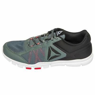 Reebok Memorytech YOURFLEX TRAIN Black/Grey/Red Running Shoe's Men's US 12