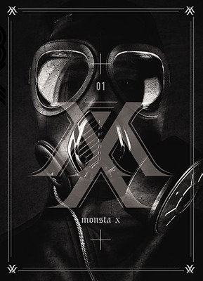MONSTA X : TRESSPASS - 1st mini album [ CD+BOOKLET+PHOTOCARD ] (KpopStoreinUSA)