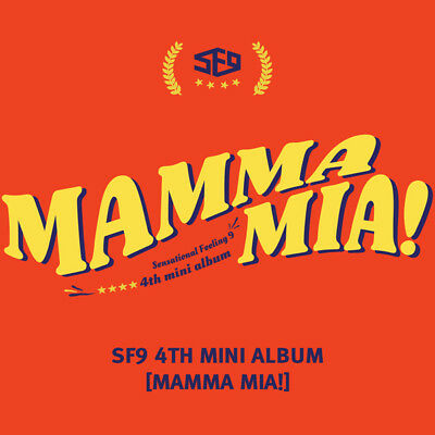 SF9 MAMMAMIA! 4TH MINI ALBUM ( BOOKLET + ALBUM + PHOTOCARD) (KpopStoreinUSA)