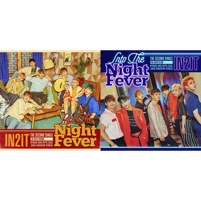 IN2IT [INTO THE NIGHT FEVER] 2nd singel CD+BOOKLET+PHOTOCARD (KpopStoreinUSA)