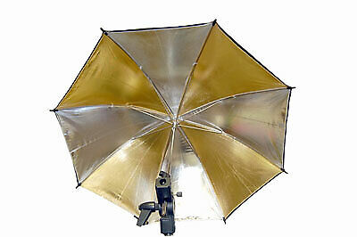 Promaster Professional Umbrella 45 Black/Gold/Silver