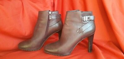 4669c95125887 WOMEN'S GRAY ANKLE Boots by Bruno Premi Size 39 - $67.00 | PicClick