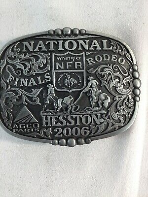 2006 Hesston National Finals Rodeo Adult Belt Buckle