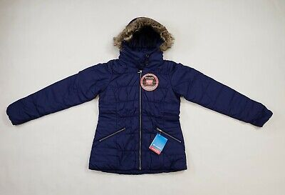 Nightshade Women/'s XS Columbia Sparks Lake Map Jacket New!! Insulated