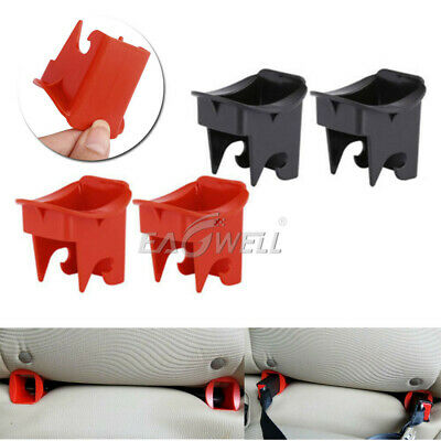 1Pair Baby Buckle Kids Seat Groove Fixed Safety Guide Universal Car Fixed Buckle