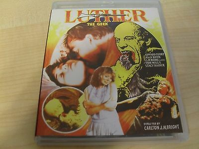 Luther the Geek (Blu-ray/DVD, 2016, 2-Disc Set) Vinegar Syndrome Troma UNCUT
