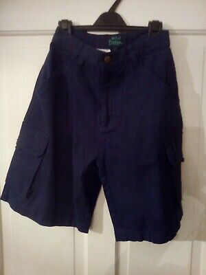 Mini Boden Navy Shorts Aged 11-12yrs