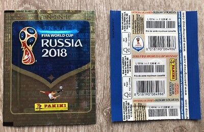 Panini WC Russia 2018 - Pochette Bustina Tüte Packet France