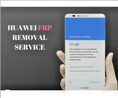 Huawei Google Account/Frp Reset/Id Bypass For-Honor/Mate/Nova/P8/P9/P10 Y6Y7Y9