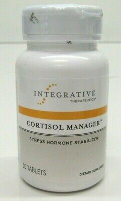 Integrative Therapeutics Cortisol Manager Stress Hormone Stabilizer - 30 Tablets