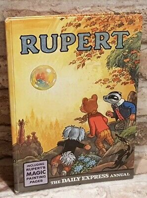 Daily Express Annual Rupert Bear Annual 1968 Vintage Collectable Original TBLO